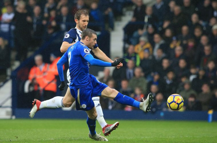 Jamie Vardy vs West Brom