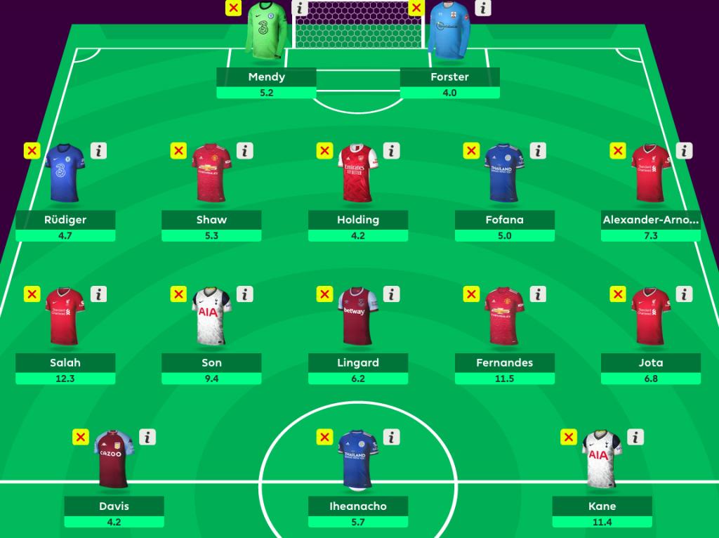 FPL Wildcard Draft 3