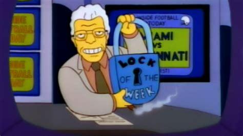 Simpsons Lock of the Week